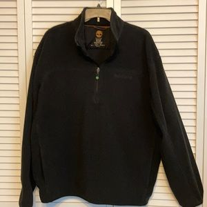 Timberland Black Pullover Fleece  Size 2XL